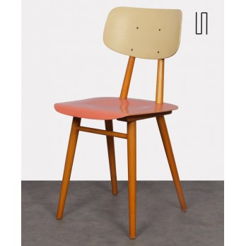 Side chair produced by the Czech manufacturer Ton, 1960s