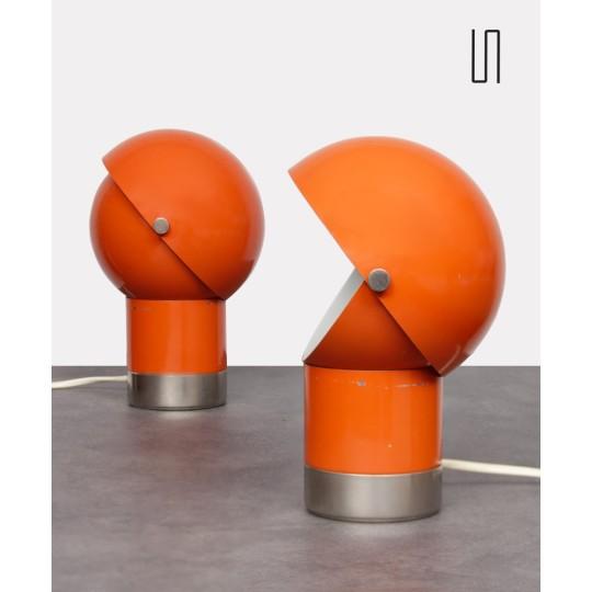 Paire de lampes vintage par Pavel Grus pour Kamenický Šenov, 1970