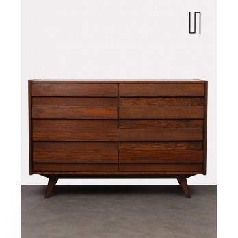 Vintage chest of drawers, model U-453, by Jiri Jiroutek, 1960s