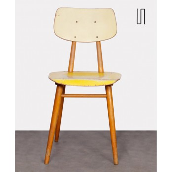 Vintage wooden chair for Ton, 1960s