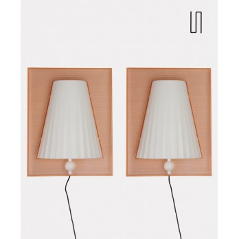 Pair of wall lights, Starck for Flos, model Walla Walla, 1994