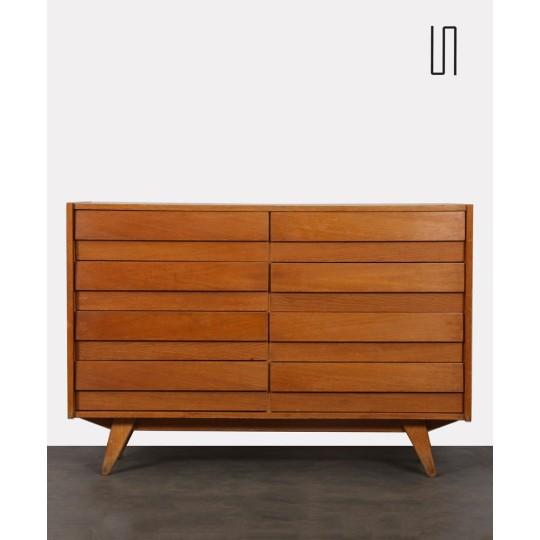 Eastern European chest of drawers by Jiri Jiroutek, model U-453, 1960