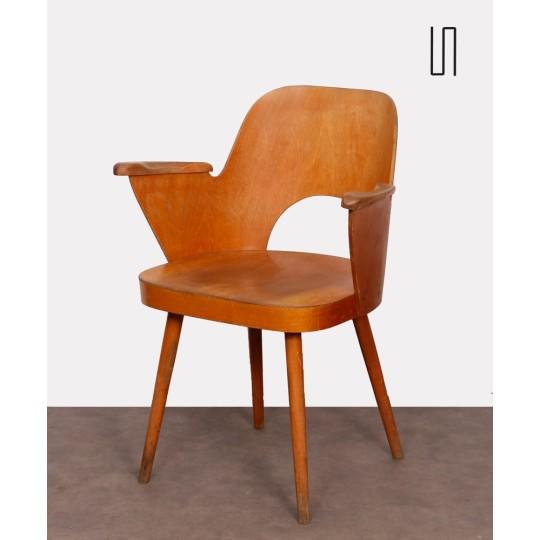 Fauteuil par Lubomir Hofmann pour Ton, 1960