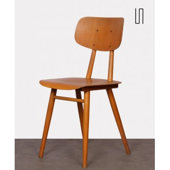 Czech wooden chair for the publisher Ton, 1960s