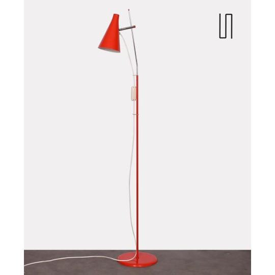 Lampadaire par Josef Hurka pour Lidokov, 1960