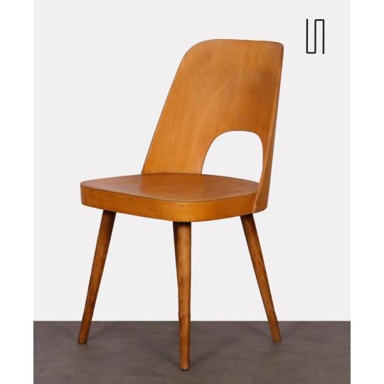 Wooden chair by Oswald Haerdtl, 1960s