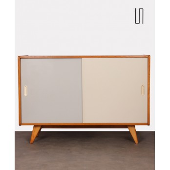 Chest of drawers with sliding doors by Jiri Jiroutek, 1960s