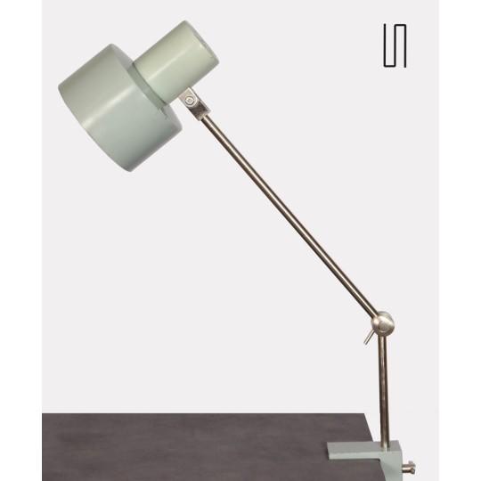 Lampe agrafe vintage, fabrication tchèque, 1970