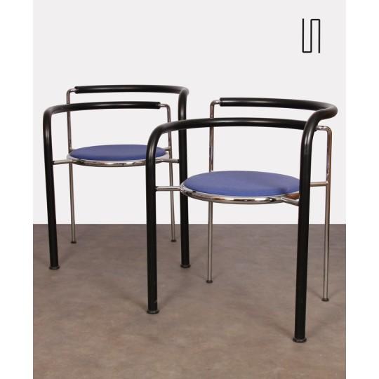 Paire de fauteuils par Johnny Sørensen et Rud Thygesen pour Botium, 1980