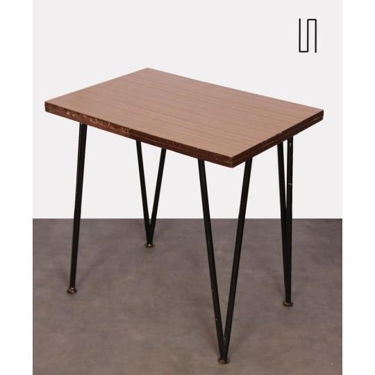 Petite table de repas, Europe de l'Est, 1960, Design soviétique