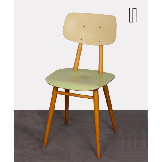 Paire de chaises pour le fabricant Ton, 1960