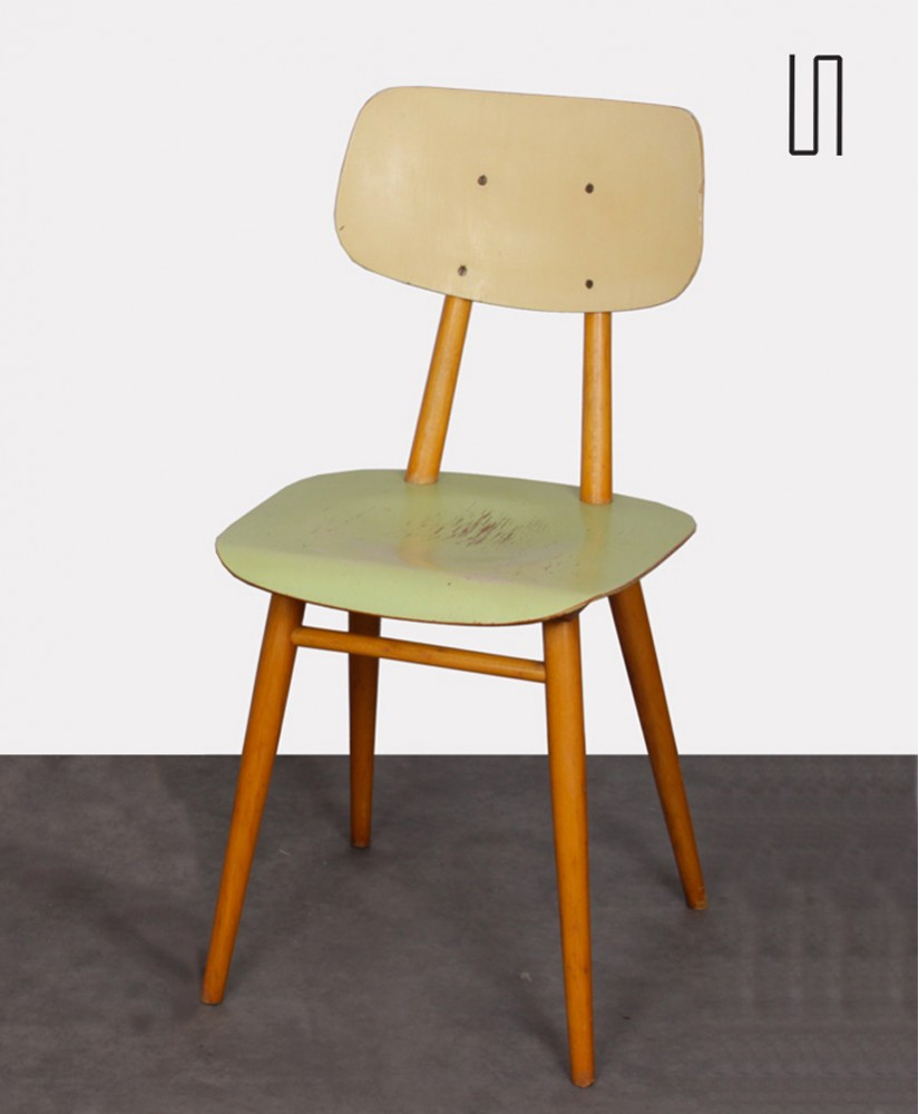 Pair of chairs for the manufacturer Ton, 1960s