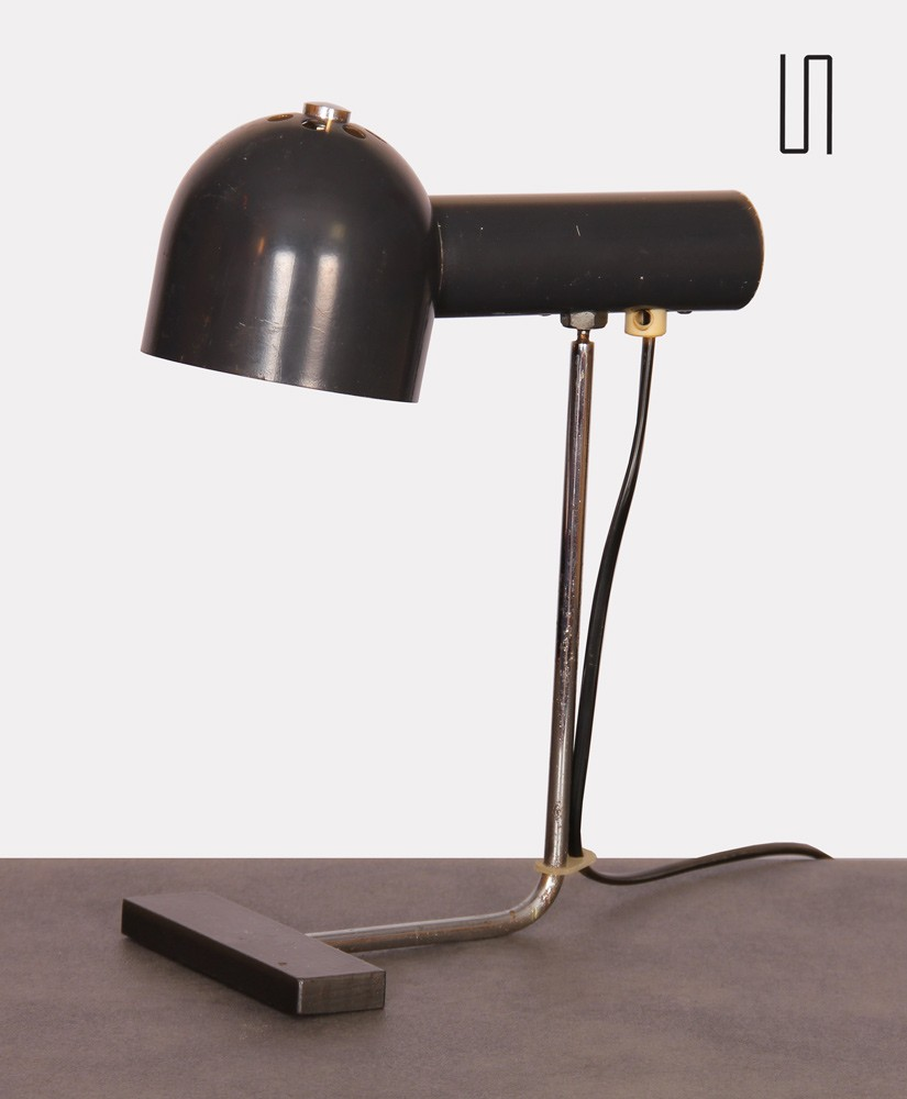 Vintage table lamp by Josef Hurka for Napako, 1960s