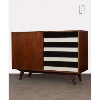 Vintage oak chest of drawers by Jiri Jiroutek, 1960s
