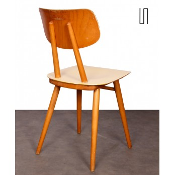 Suite of 3 chairs from Eastern Europe, 1960s