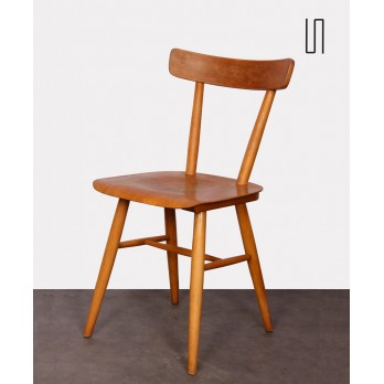 Chaise vintage éditée par Ton, 1960