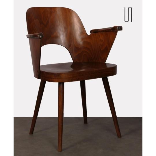 Armchair by Lubomir Hofmann made by Ton, 1960s