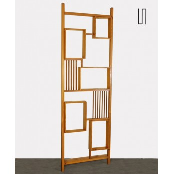 Ash room divider by Ludvik Volak, Czech design, 1960s
