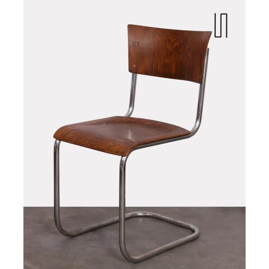 Chaise dessinée par Mart Stam pour Kovona, 1940
