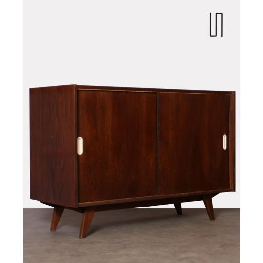 Oak chest, model U-452 by Jiri Jiroutek, 1960s