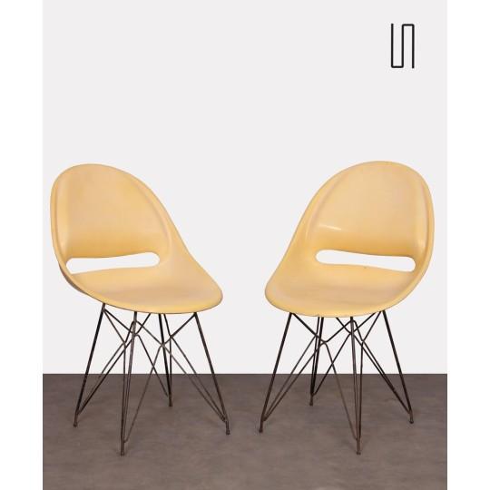 Paire de chaises par Miroslav Navratil pour Vertex, 1959