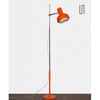 Vintage floor lamp by Josef Hurka for Napako, circa 1970