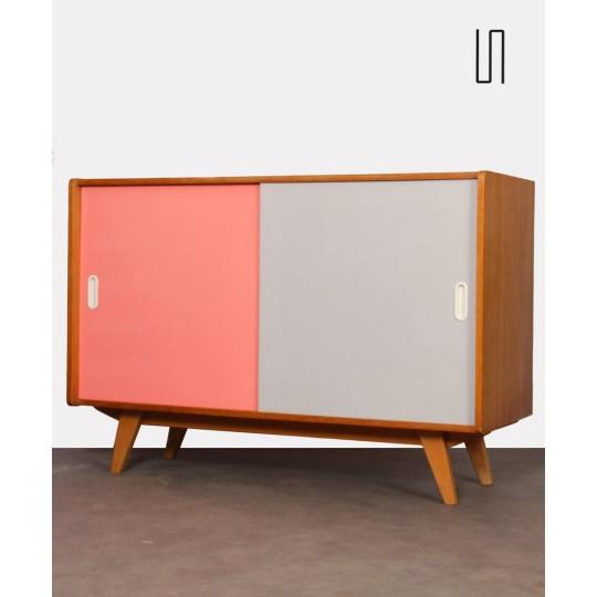 Pink and white chest by Jiri Jiroutek, model U-452, 1960s