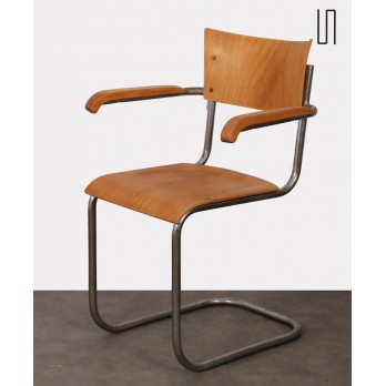 Vintage armchair by Mart Stam for Kovona, 1940s