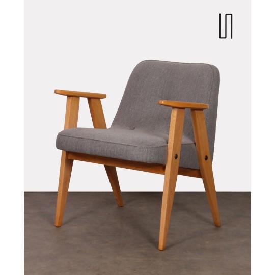 Polish armchair, model 366 by Jozef Chierowski