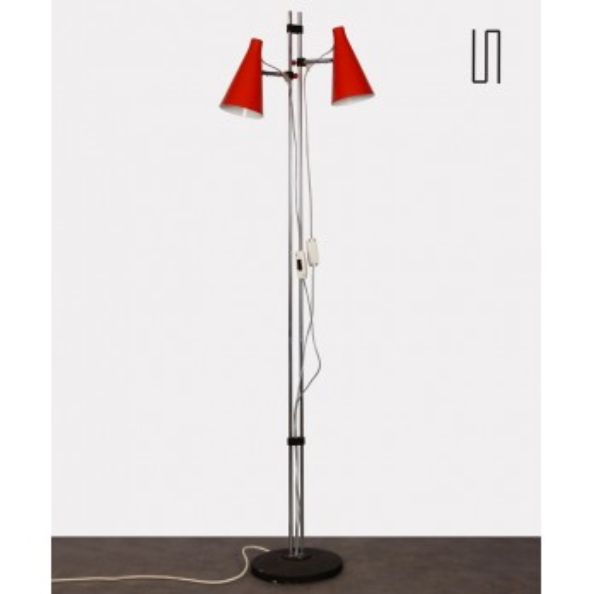 Vintage floor lamp by Josef Hurka for Lidokov, 1960s