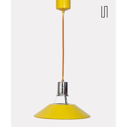 Vintage pendant light published by Drupol, 1970
