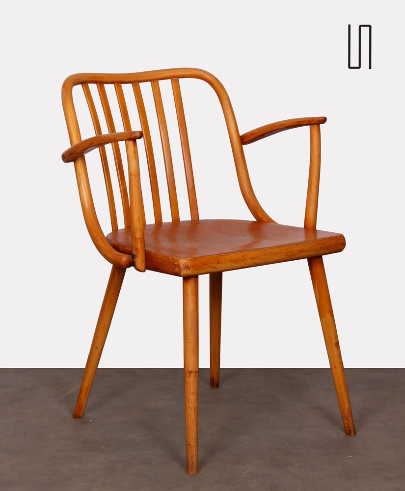 Vintage armchair by Antonin Suman for Ton, 1960s