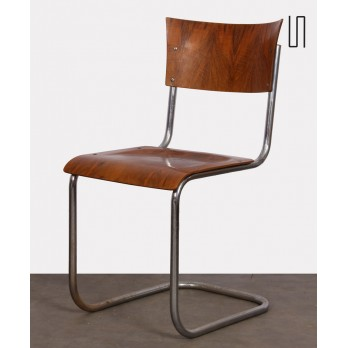 Metal chair designed Mart Stam, made circa 1940