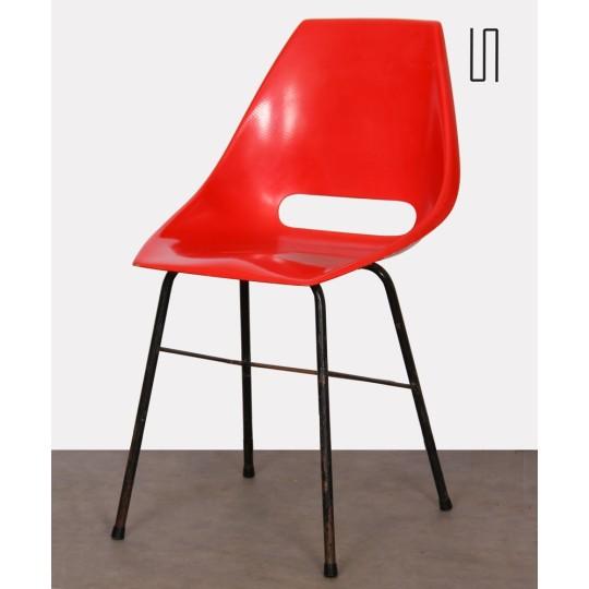 Vintage chair by Miroslav Navratil for Vertex, circa 1960