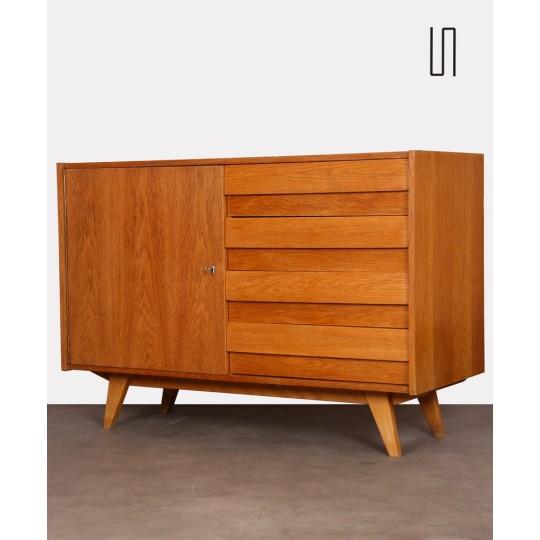 Vintage oak chest of drawers by Jiri Jiroutek for Interier Praha, 1960s