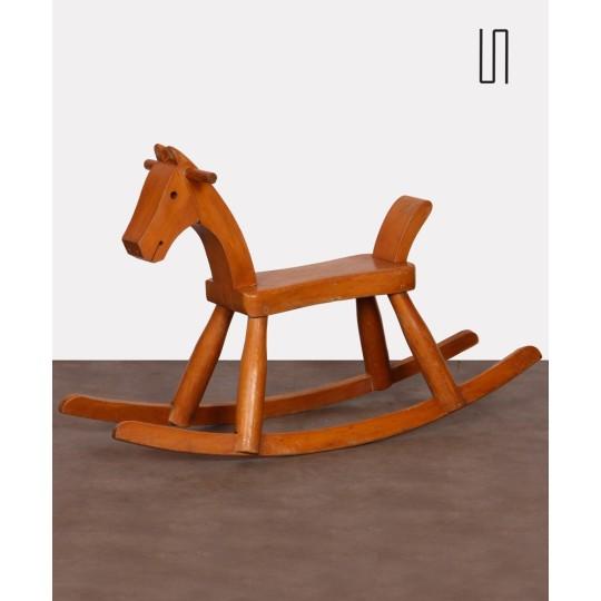 Vintage rocking horse by Kay Bojesen, 1936