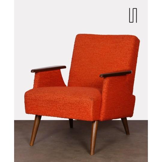 Vintage armchair, Czech design, 1970s