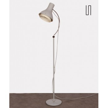 Vintage metal floor lamp by Josef Hurka for Napako, 1960s