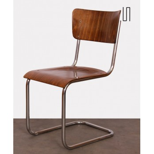 Metal chair designed Mart Stam, made circa 1940