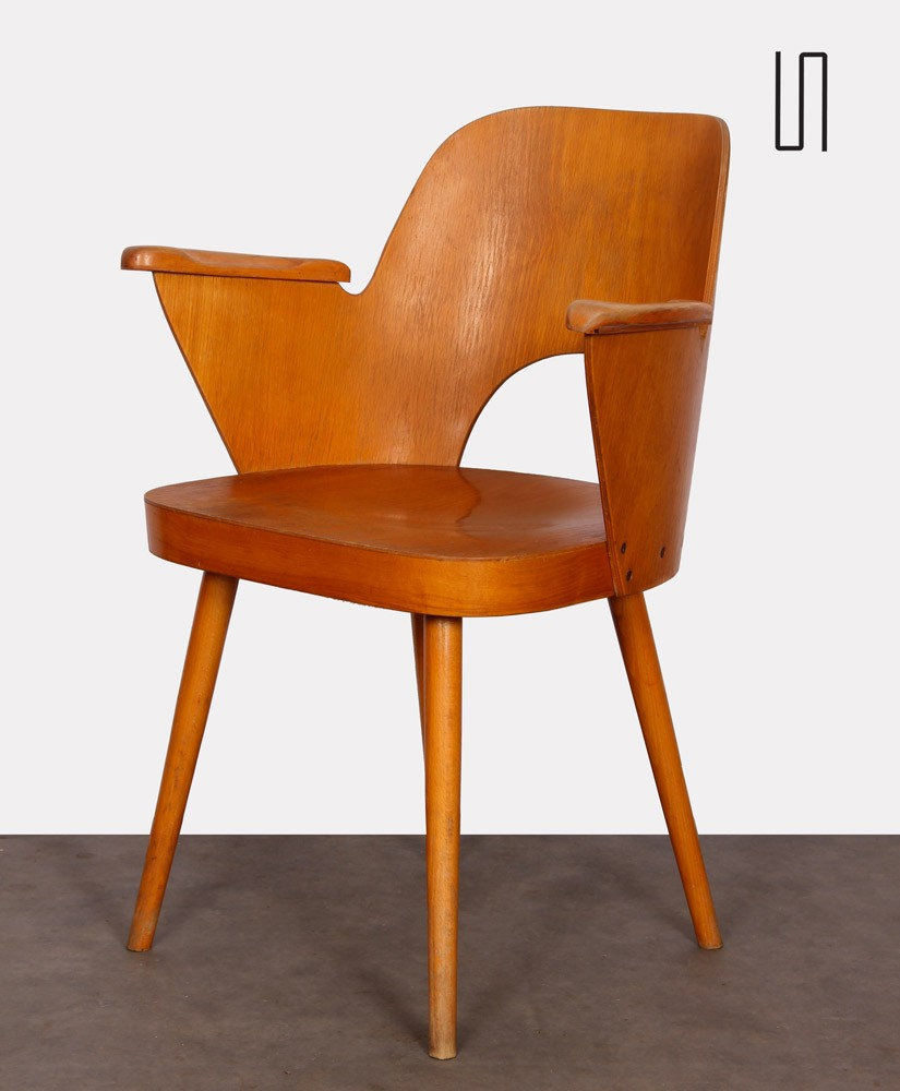 Armchair by Lubomir Hofmann made by Ton, 1960s