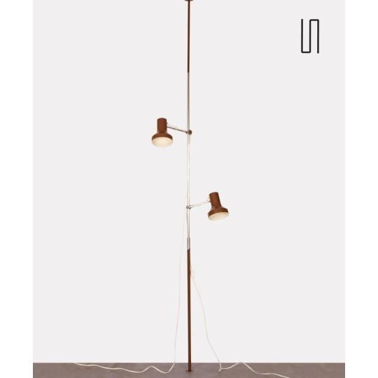 Vintage floor/ceiling lamp, Czech design, circa 1970