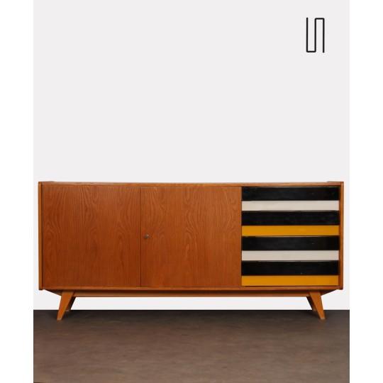 Oak sideboard by Jiri Jiroutek for Interier Praha, 1960s