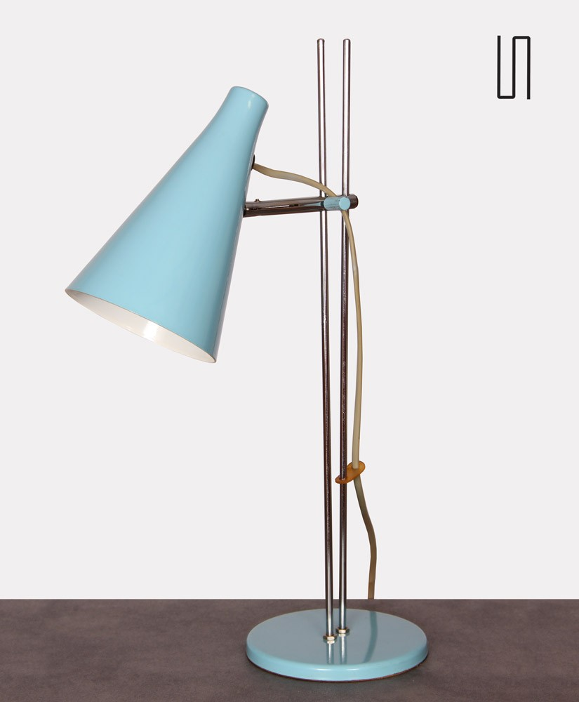 Vintage table lamp by Josef Hurka for Lidokov, 1960s