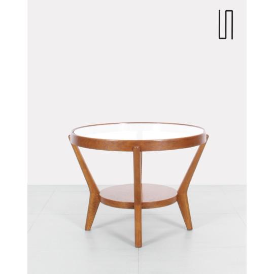 Table basse de Koželka et Kropáček, Design vintage des pays d'Europe de l'Est