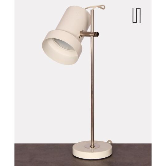 Lampe vintage en métal éditée par Aka vers 1960