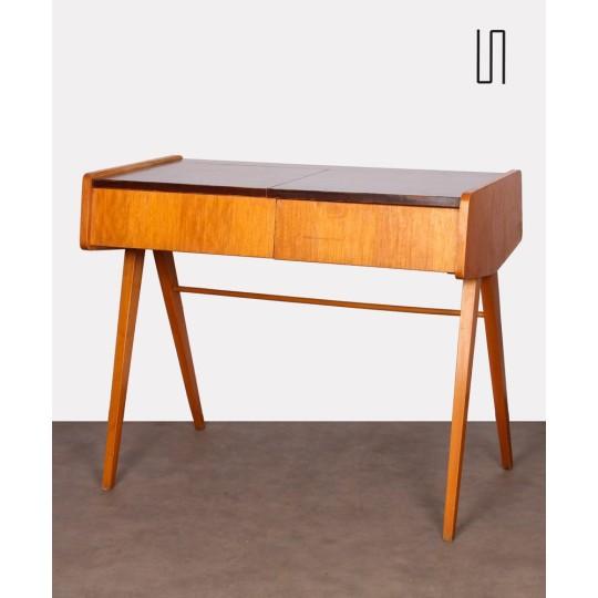 Vintage wooden dressing table attributed to Frantisek Jirak, 1970s