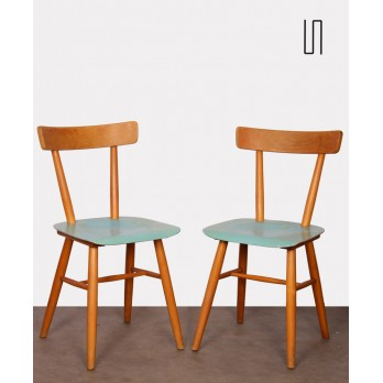 Pair of vintage chairs edited by Ton, 1960s
