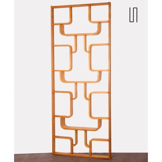 Room divider made by Ludvik Volak for Drevopodnik Holesov, 1960s