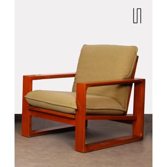 Pair of vintage armchairs by Miroslav Navratil, model Daria, 1985