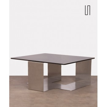 Coffee table by Jean-Pierre Mesmin for Bioject, Colima model, 1970s